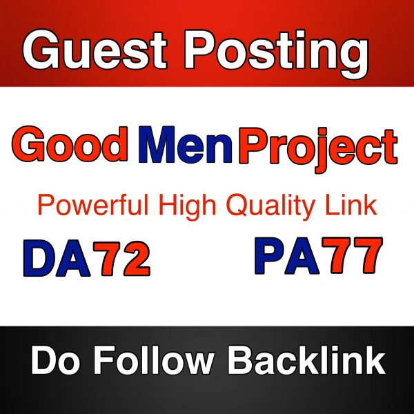 guest post on goodmenproject