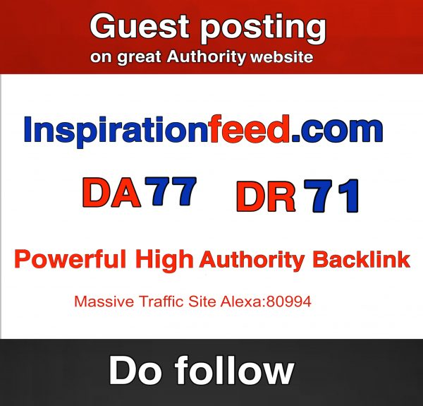 guest post on inspirationfeed.com