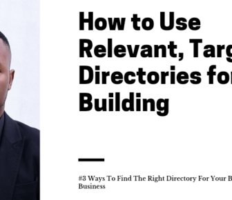 How to Use Relevant, Targeted Directories for Link Building